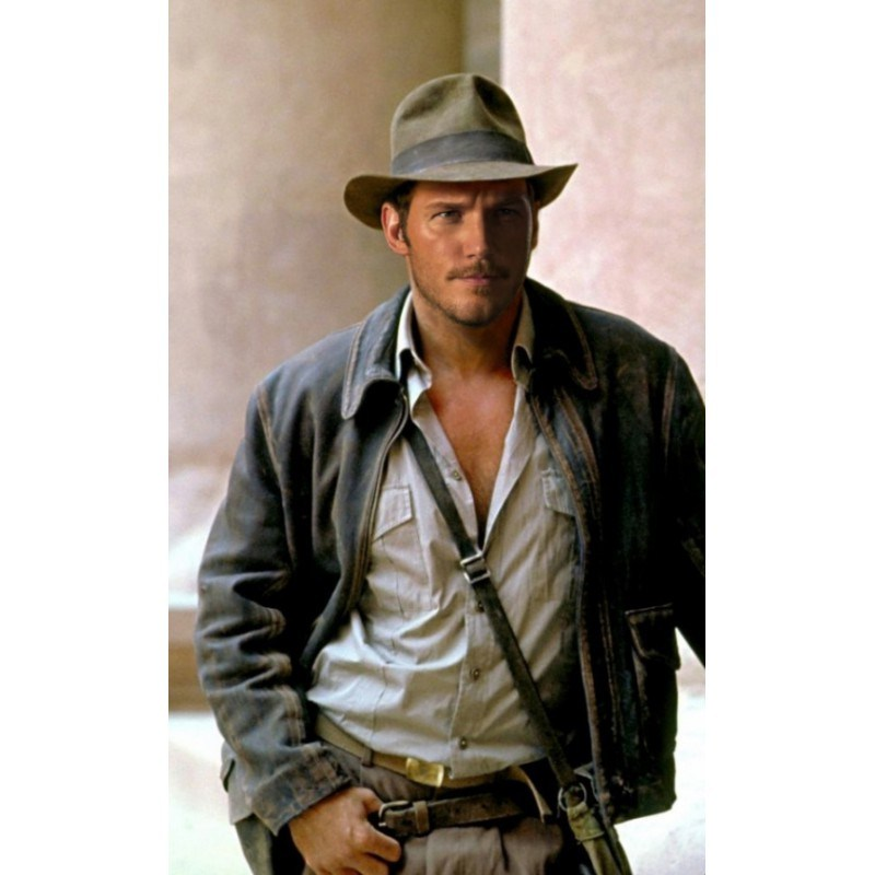 Chris Pratt New Indiana Jones Leather Jacket For Usa Uk Australia Canada Hipster Mens Fashion Best Leather Jackets Leather Jacket