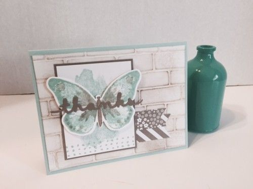Stampin' Up! Brick Wall Card Ideas by Sherrie!