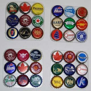 Bottle Top Resin Coasters. Individually made, Bottle top requests taken. personalise with bottle tops from places of interest or memorable countries/places you have visited.