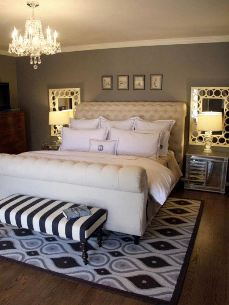 30 Cute Bedroom Decorating Ideas To Create New Atmosphere Bedroom Decor For Couples Small