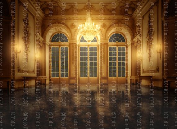 Beauty And The Beast Photography Backdrop By Photopropfloorsdrops