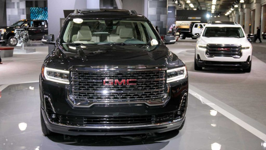 2021 gmc acadia officially confirmed, significant changes
