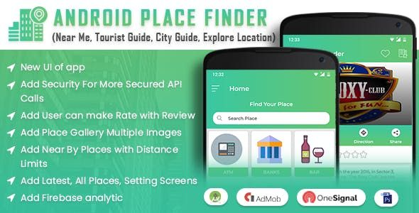 Android Place Finder (Near Me,Tourist Guide,City Guide