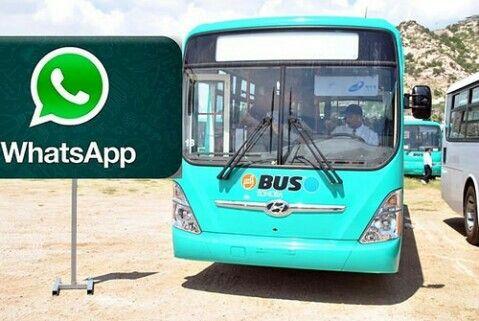 #LaRealnoticia La Dirección de Transporte Moderniza el Servicio de Reportes con WhatsApphttp://ht.ly/XWiFf
