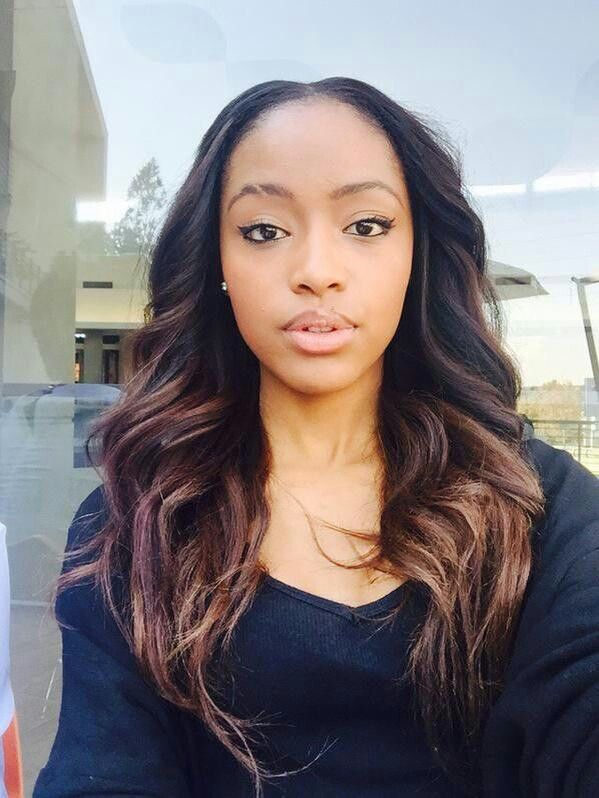 South African Beauty Kamo With Gorgeous Hair Extensions Weave