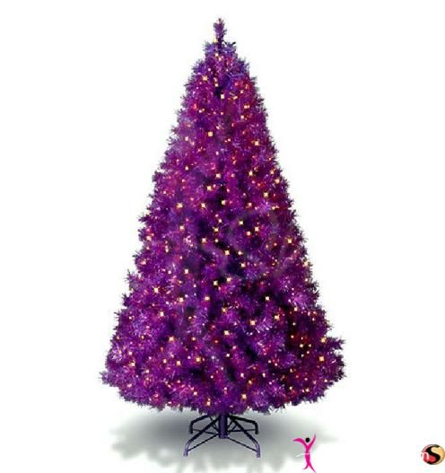 Purple Balls For Decoration Image Result For Small Purple Christmas Tree  Purple Christmas