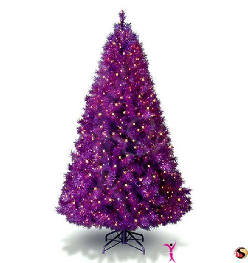 Purple Balls For Decoration Image Result For Small Purple Christmas Tree  Purple Christmas
