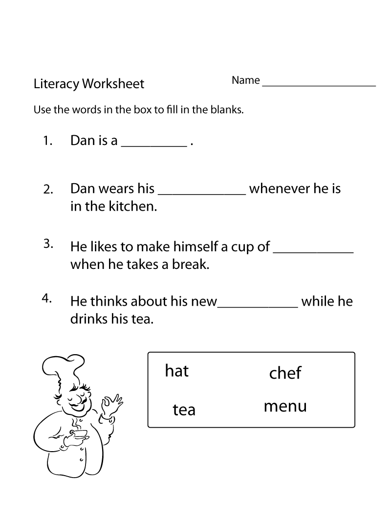 Math Worksheets For Adults Literacy Worksheets School Worksheets Fun Kindergarten Worksheets