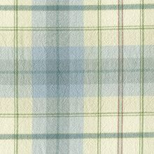 Pastel Plaid Home Decor Fabric By The Yard Tempest Pale Blue