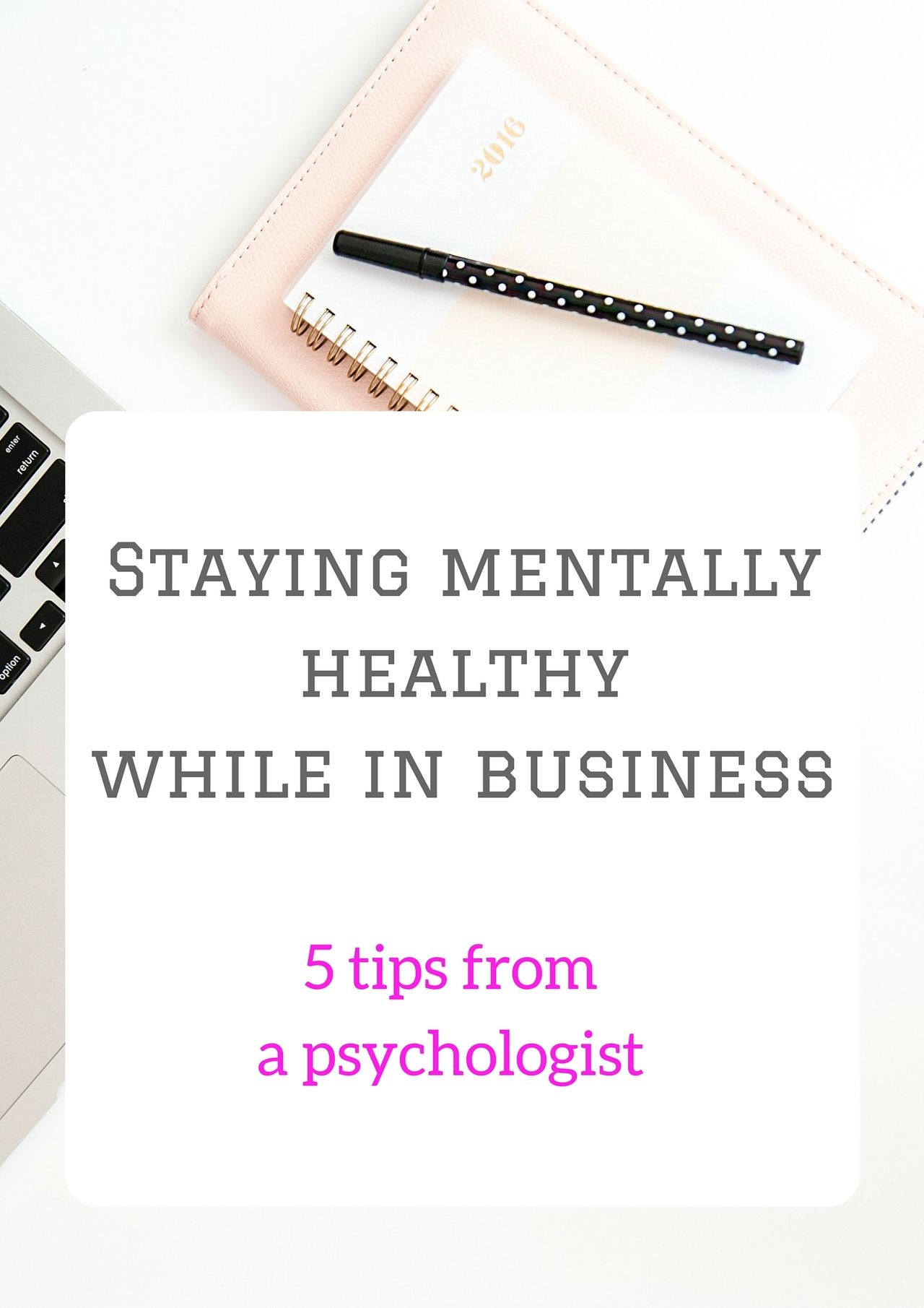 5 steps to stay mentally healthy as an entrepreneur