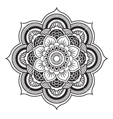 mandala 4 | ausmalbildkostenlos.com | Pinterest | Malbuch erwachsene ...