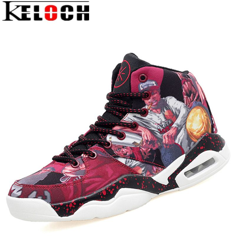 Check Price Keloch New Popular Style Men Basketball Shoes High Top