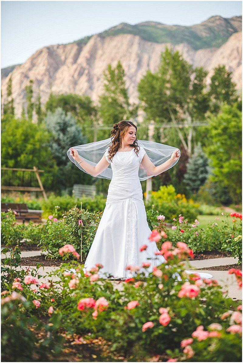 The dress garden utah - Bridals Flowers Ogden Botanical Garden Utah Photogarpher Utah