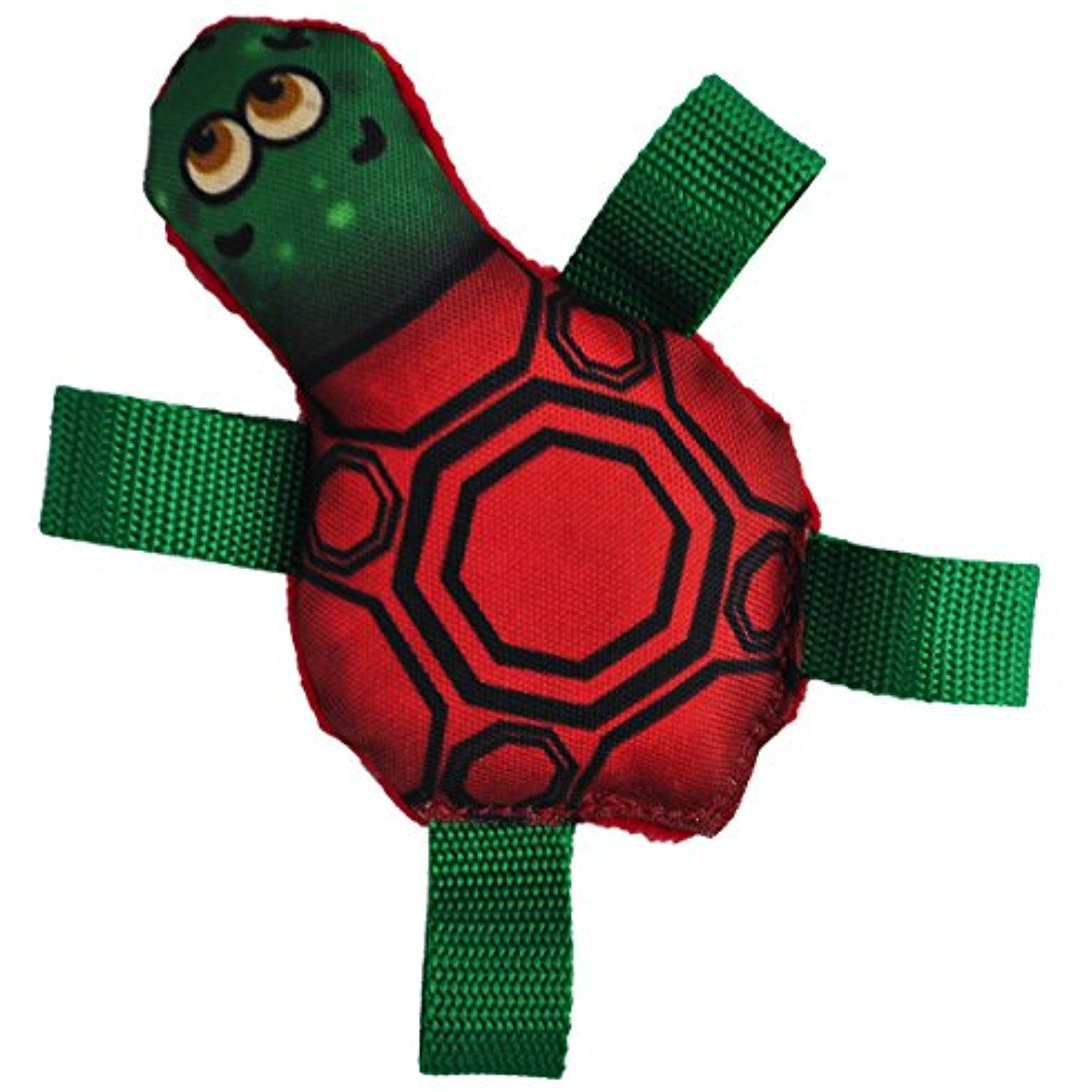 American Dog Hybrid Collection Tommy Turtle Squeaking Dog Toy