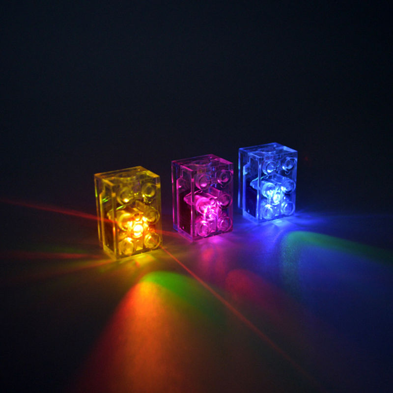 Amazing 5 X LED LEGO LUNAR LIGHTS Compatible Lego Blocks UK IN STOCK NOW Multi  Coloured