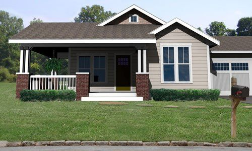 Craftsman Style House Plan 3 Beds 2 Baths 1428 Sq Ft Plan 461 55 In 2020 Craftsman House Plans Farmhouse Style House Plans Craftsman Style House Plans