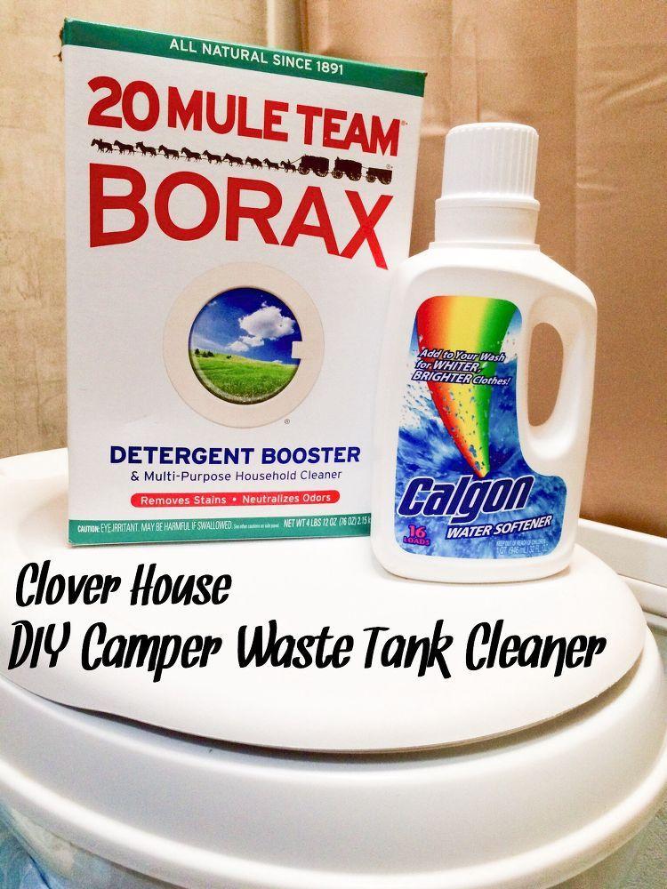 Diy Camper Waste Tank Cleaner Diy Camper Camper Camper Storage