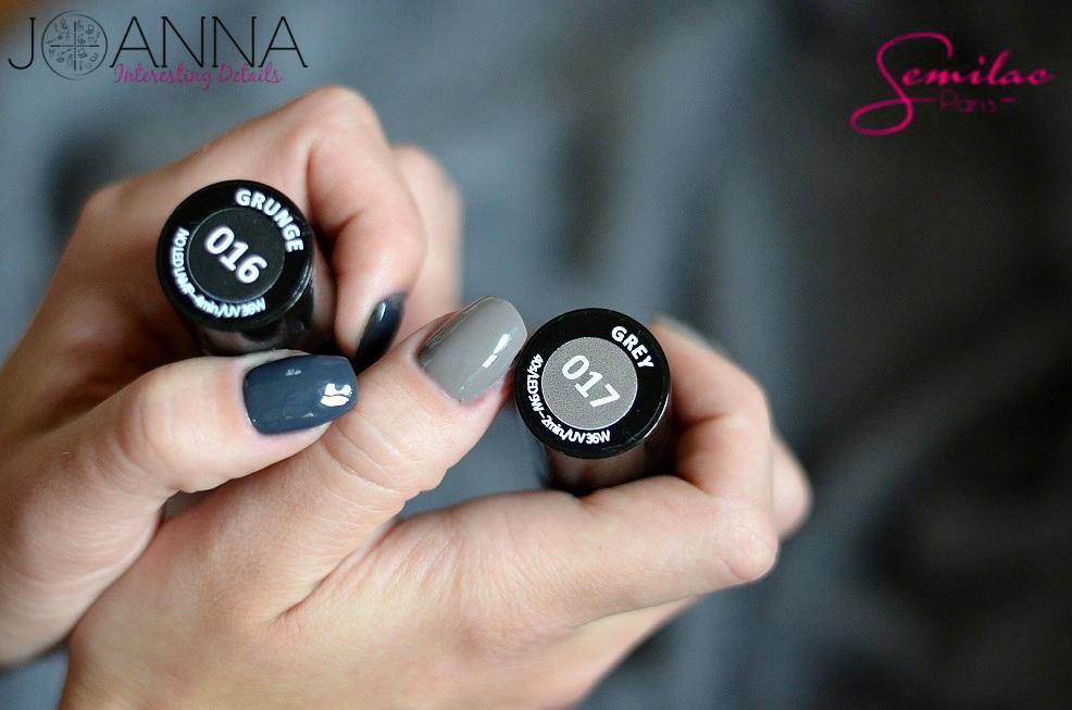 Semilac 016 017 Nails Inspiration Manicure Nail Colors