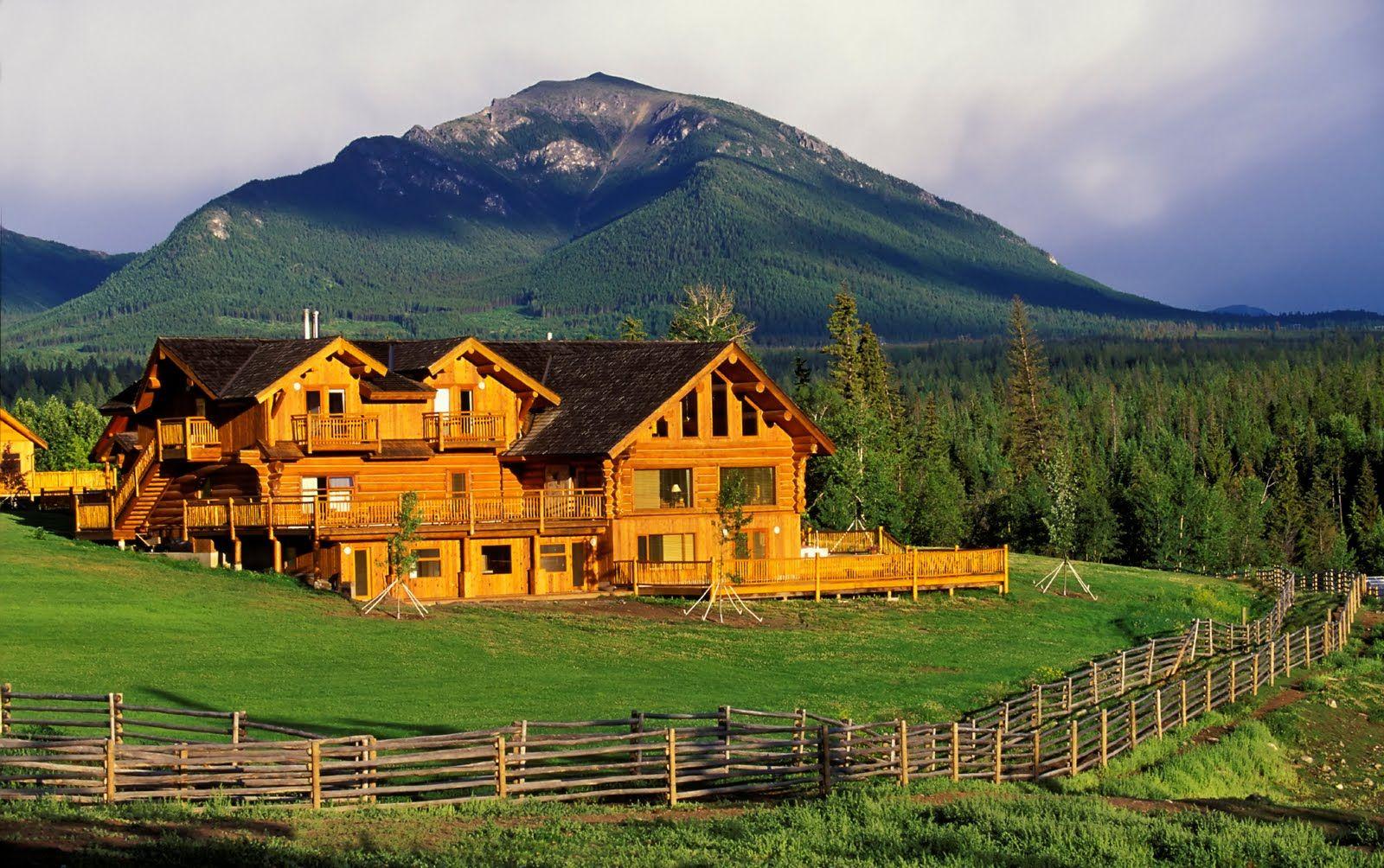 Log Cabin Ranch Home For Sale In Montana Aspiring MT RanchHorse