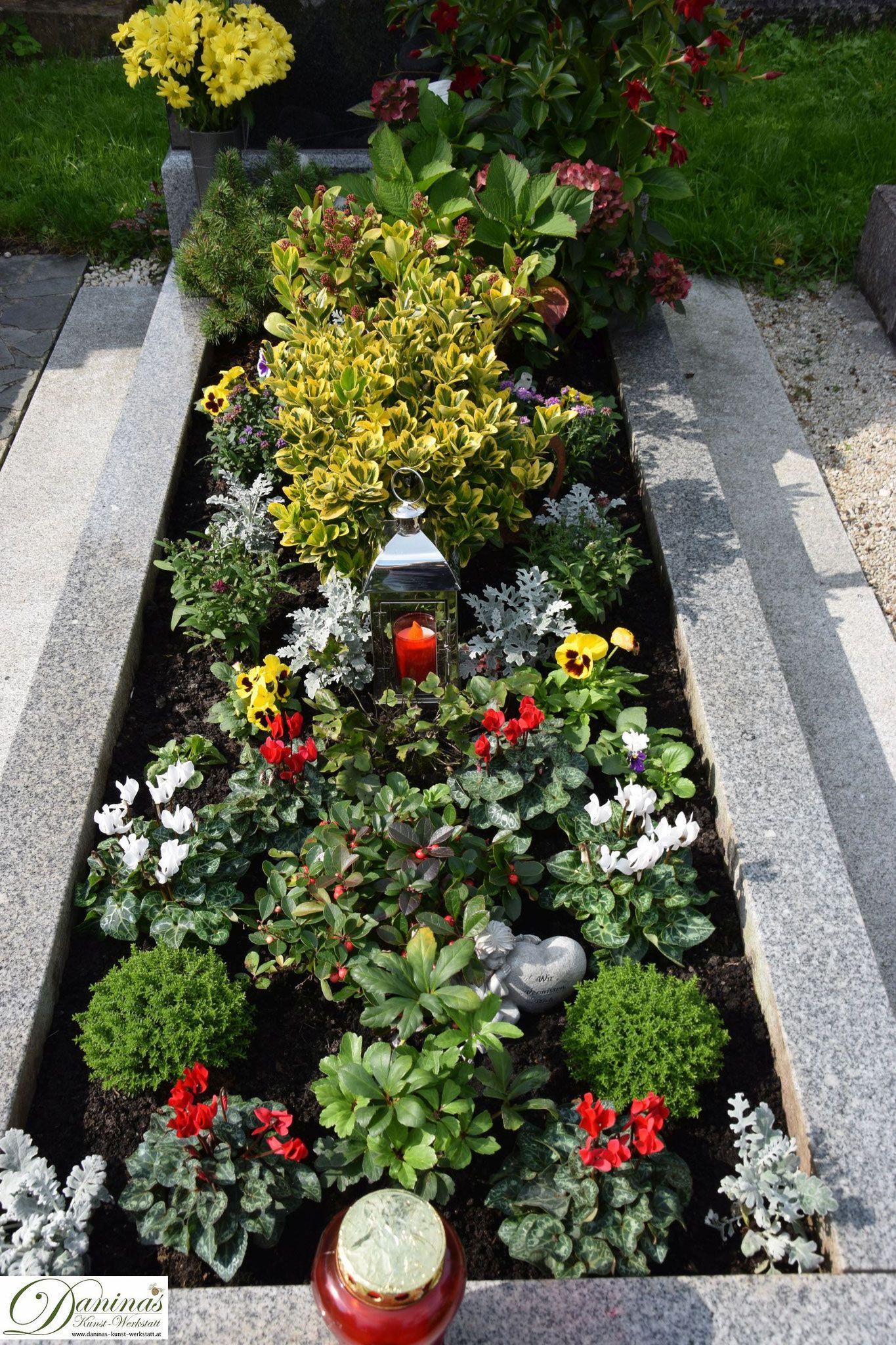 grabgestaltung selber machen grabgestaltung grave planting pinterest grabbepflanzung. Black Bedroom Furniture Sets. Home Design Ideas