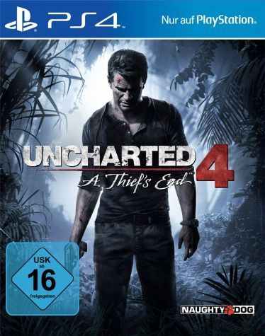 Uncharted 4 A Thief S End Ps 4 Playstation Unbekannt Ps4 Spiele
