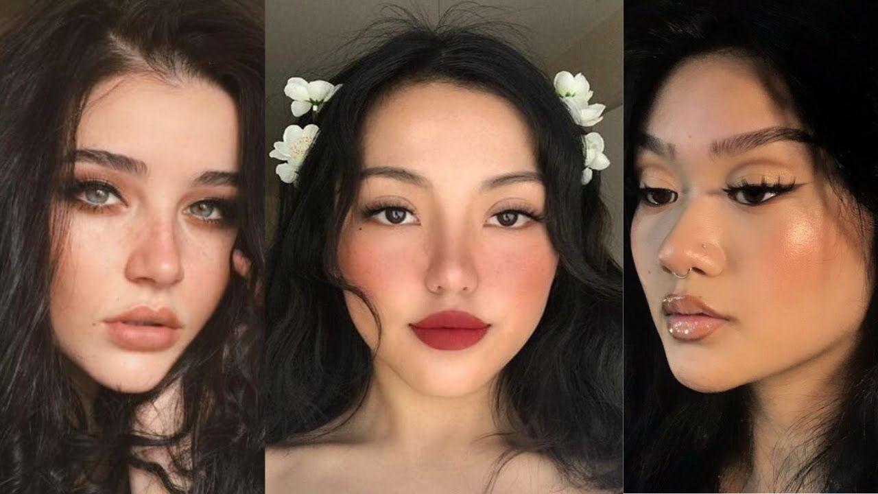 Tumblr Makeup Tutorial Tik Tok Makeup Compilation Makeup Tutorial Natural Makeup Maquillaje Natural