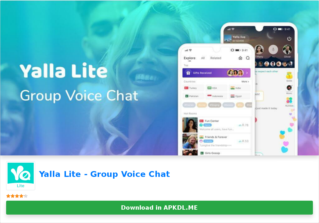 Yalla Lite Group Voice Chat Voice Chat Coin Master Hack The Voice