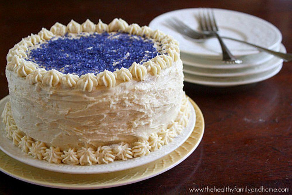 Vanilla Birthday Cake with 'Buttercream' Icing (Vegan) | One Green Planet