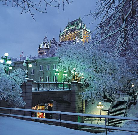 Quebec city one of the most beautiful cities in north Most beautiful cities in the us