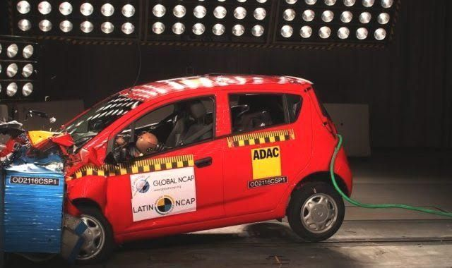 India Made Chevrolet Beat Fails In Latin Ncap Tests Car News