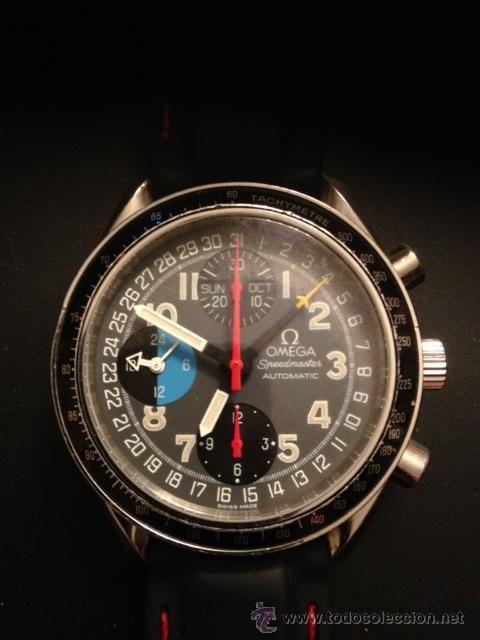 Reloj Omega Speedmaster, automático, modelo Schumaker. Años