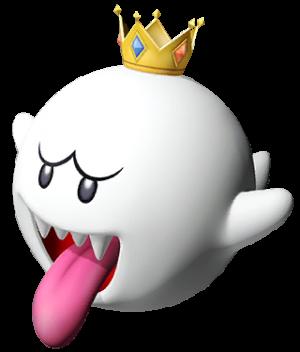 King Boo King Boo Luigi S Mansion Dark Moon Super Mario Bros