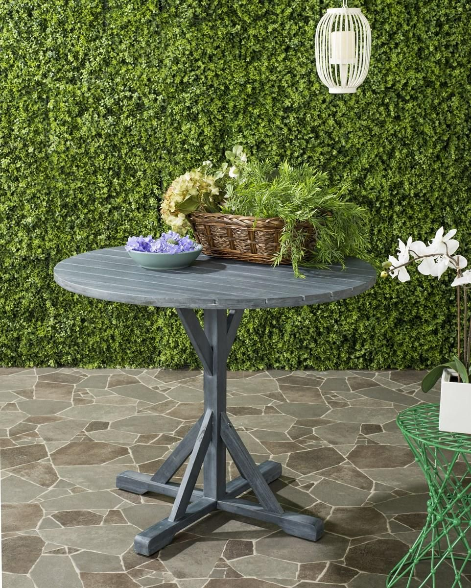 Inspired By The Luxurious Contemporary Style At A Resort In The Round Table  Turns Any Outdoor Gathering Into A Chic Soiree. Crafted With Acacia Wood,  ...