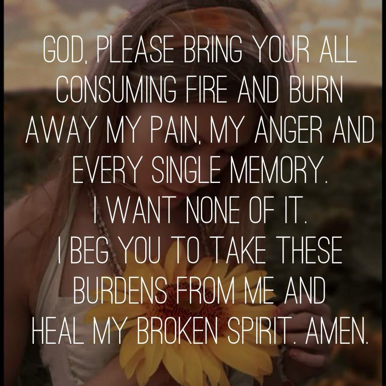 God Please Bring Your All Consuming Fire And Burn Away My Love My