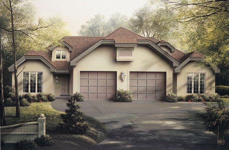 Multi Unit House Plan 138 1056 4 Bedrm 1992 Sq Ft Per Unit Home