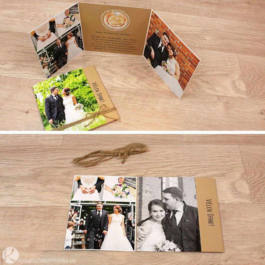 Hochzeit weddig selber machen DIY Anleitung Tutorial Deko Gastgeschenk Danke Dankeskarten Fotos
