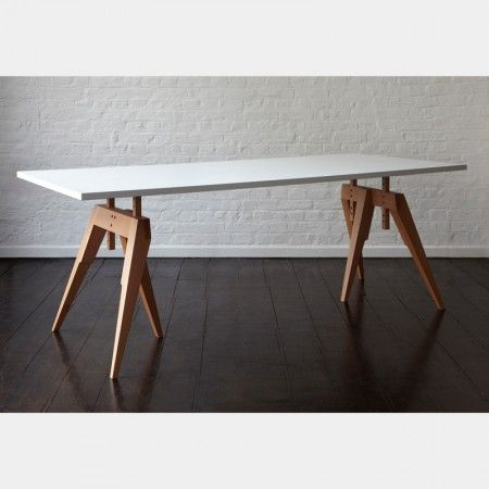 Beautiful Compass Table Legs   Office + Storage