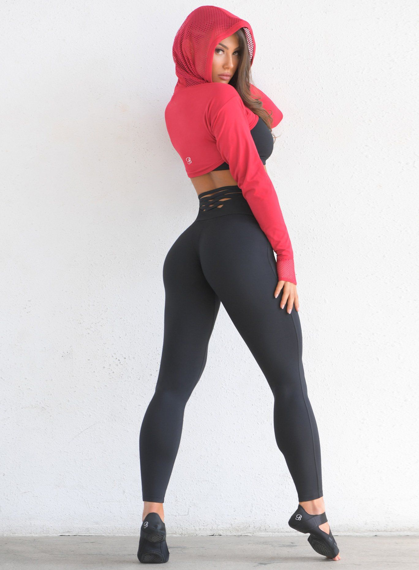 c2a9c0f923640b Sexy Back Leggings in 2019 | Hot yoga pants | Sexy, Black leggings ...