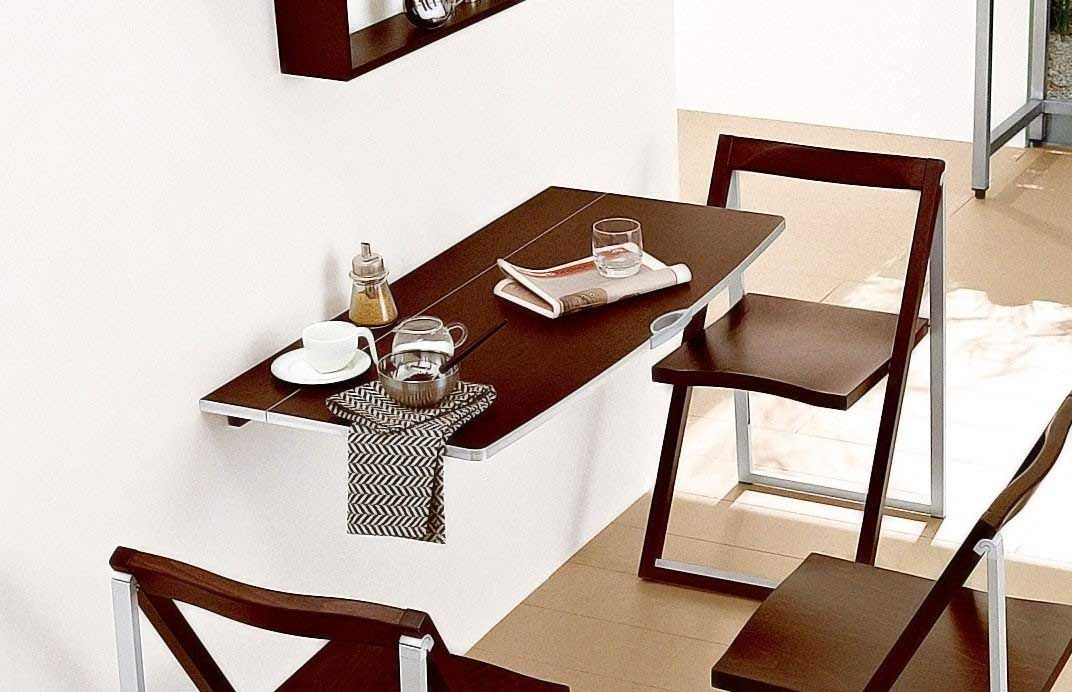 Gentil Wall Mounted Table | Save A Lot Of Places In Your Apartment