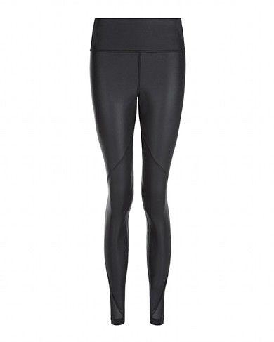 879e792bd2238 Frey Wet Look Luxe Leggings - Black | leggings | Sweaty Betty | My ...