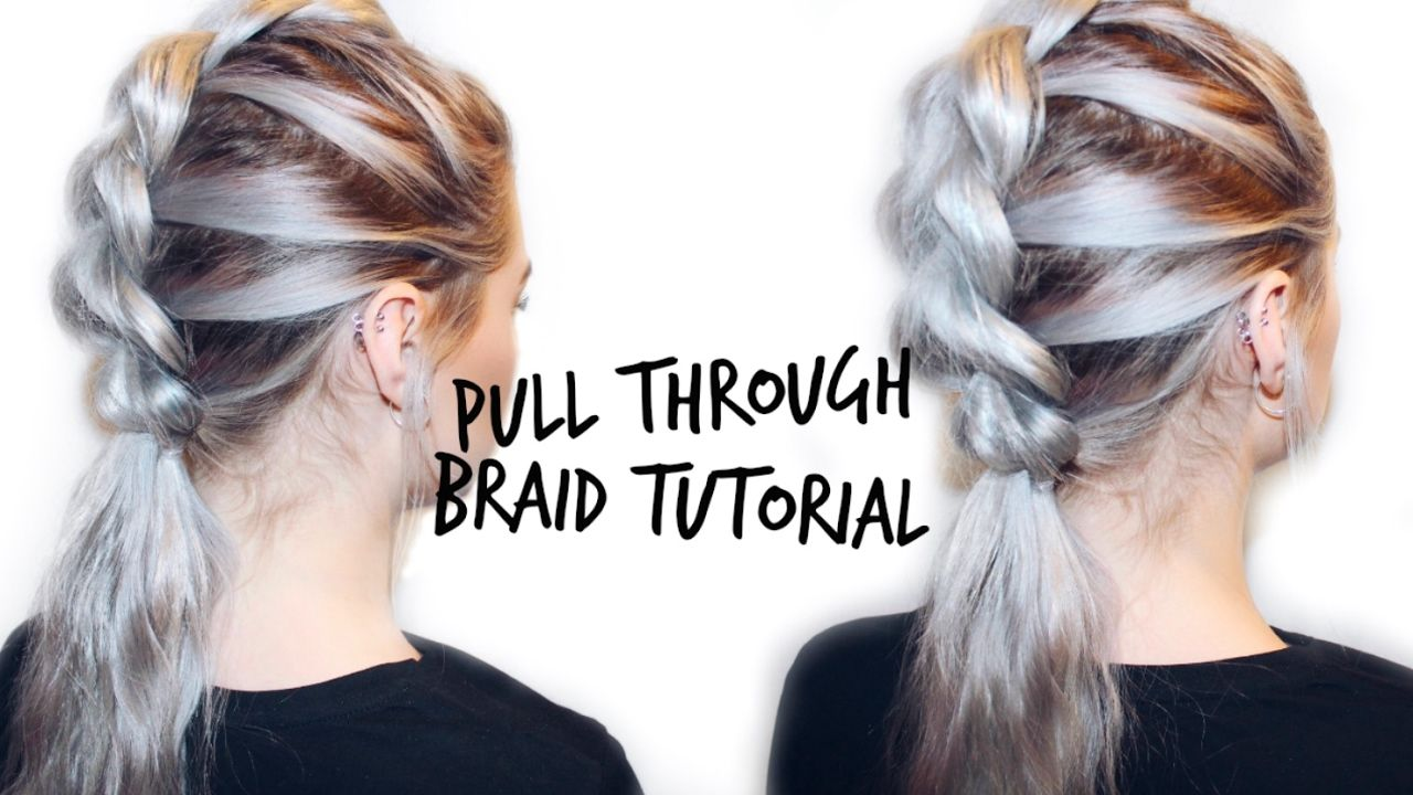 Pull through braid mohawk hair tutorial lovefings youtube
