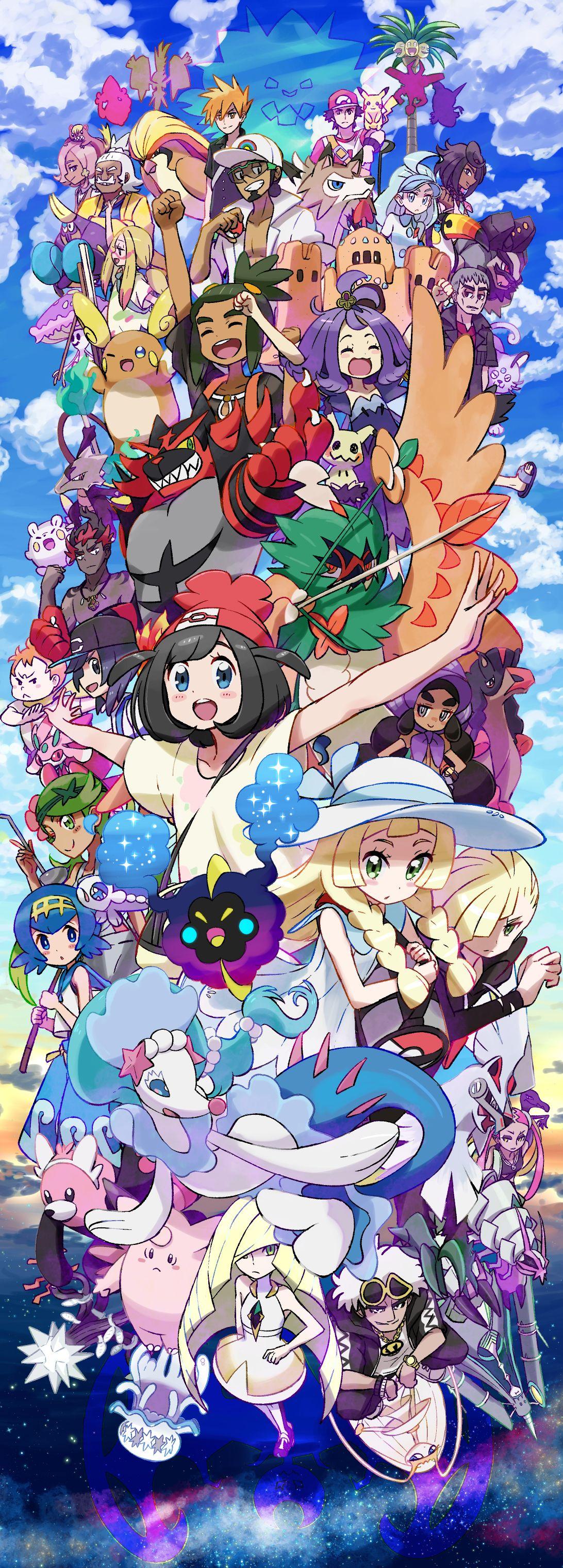 Pokémon Sun & Moon/2088647 Zerochan (con immagini