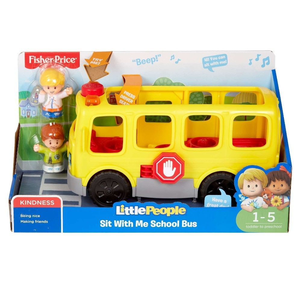Purchased Little People Sit With Me School Bus At Walmart 984
