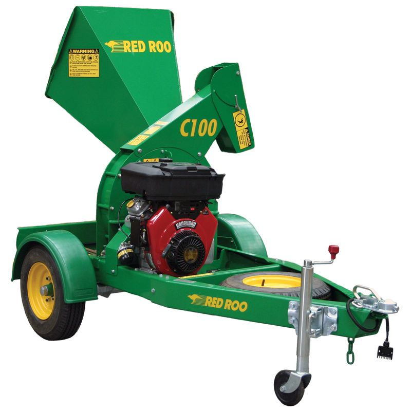 C100 Wood Chipper Composting Wood Chipper Stump