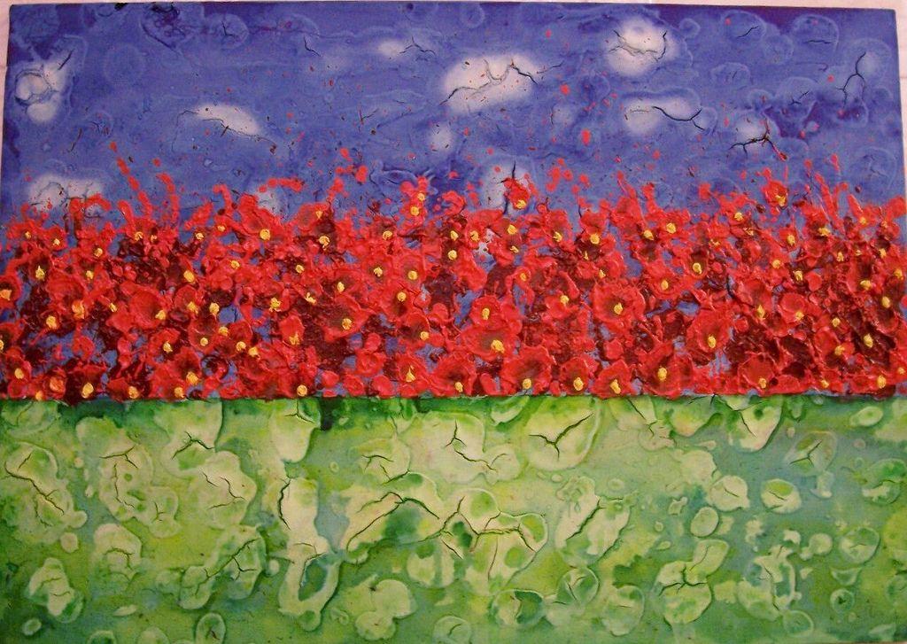 https://flic.kr/p/7oqN7Y   100_1927- 'Flores para Ana Luiza  IV'de Marco Antônio Scarelli- pintura.   Flores - Exposição de 'Flores para Ana Luiza' - Museu da Energia, Jundiai/SP- 2006. Foto: Regina Kalman