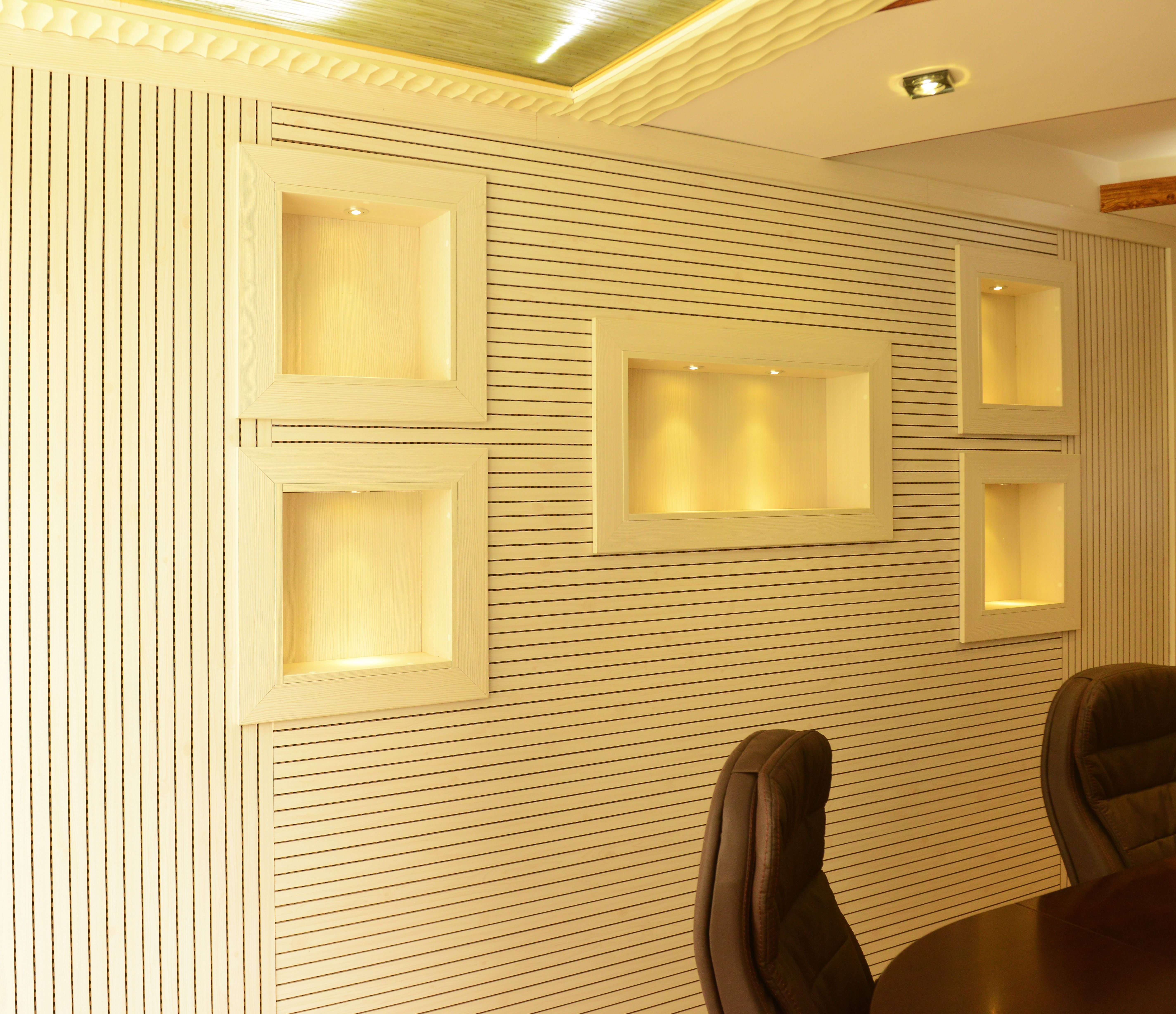 Acoustic Wall Panel made according to acoustical theory, excellent ...