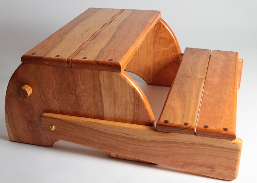 Child Chair Step Stool Of Cherry Wood Projects For Kids
