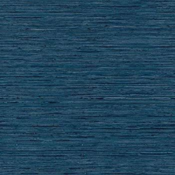 Roommates Grasscloth Blue Peel And Stick Wallpaper Rmk11314wp Amazon Com Grasscloth Grasscloth Wallpaper Peel And Stick Wallpaper