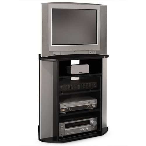 Bush Visions Tall Corner TV Stand Walmartcom Conference Room