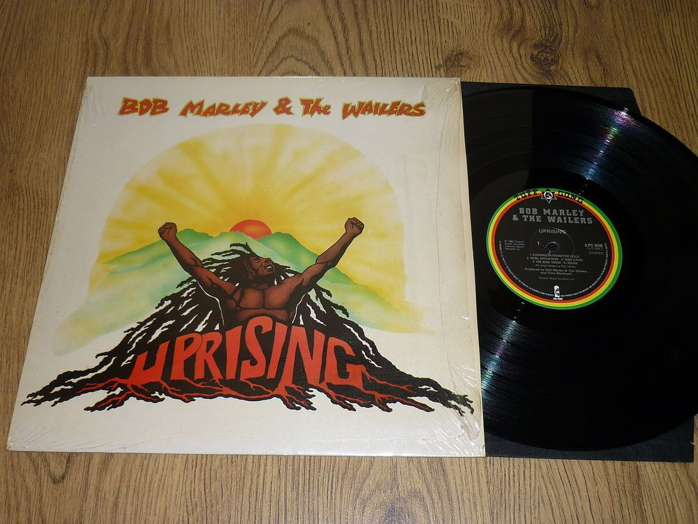 Bob Marley The Wailers Uprising Uk Vinyl Lp Still In Shrink Ilps 9596 The Wailers Vinyl Vinyl Music